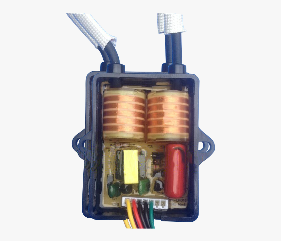 Transformer Flyback Component High Voltage Coil Electronic - High Voltage Ignition Coil, Transparent Clipart