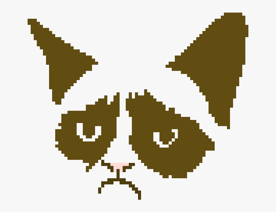 Grumpy Cat Minimalist, Transparent Clipart
