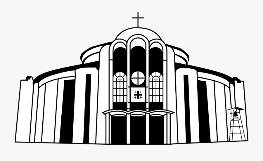 Building, House, Church, Temple, Architecture, Religion - Illustration, Transparent Clipart