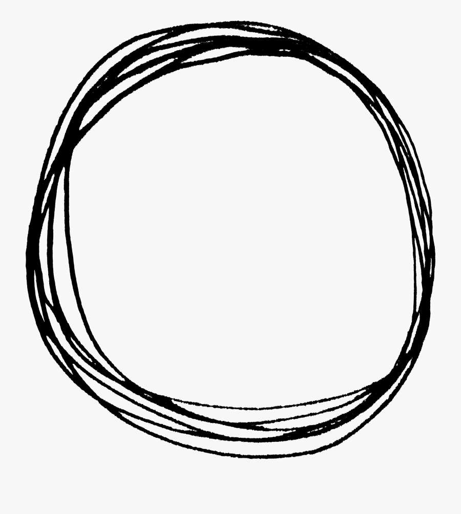 Drawn Circle Png - Circles With Transparent Background, Transparent Clipart