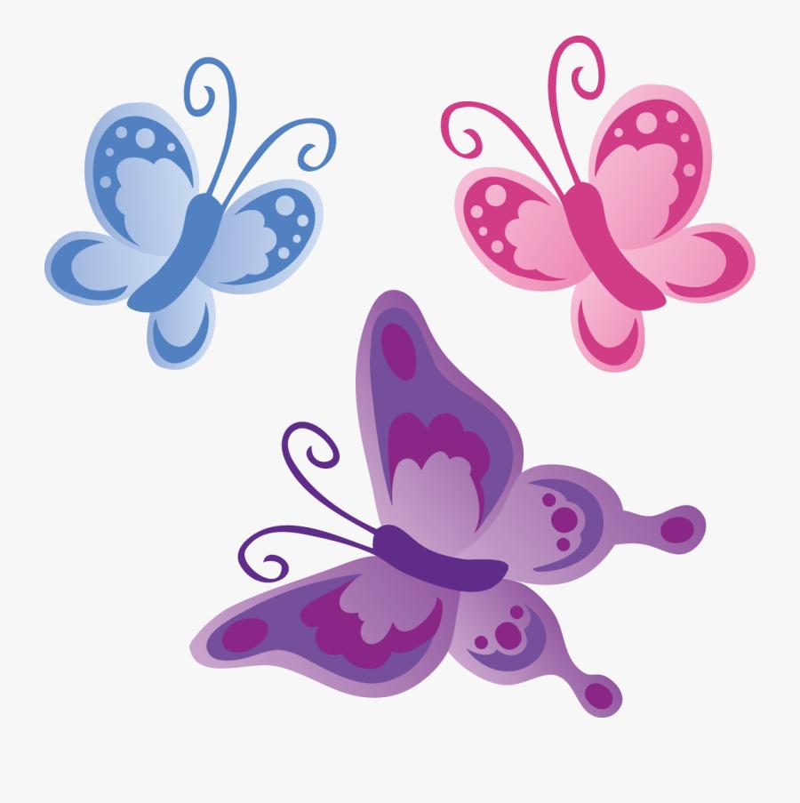 Cartoon Clip Art Design - Free Printable Clip Art Butterfly, Transparent Clipart