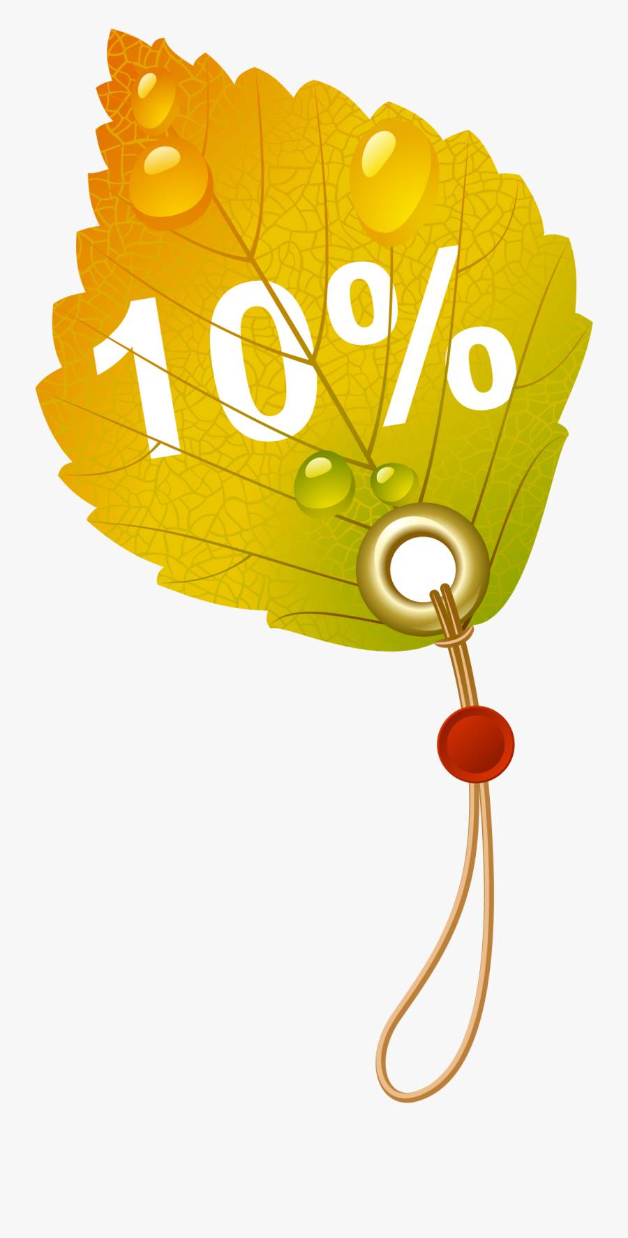 Autumn Leaves Vector, Transparent Clipart