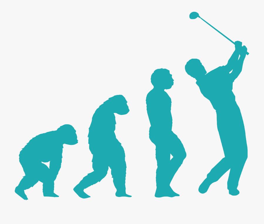 Gif Human Evolution Gruet Winery Vector Graphics - Human Evolution Through The Geological Era, Transparent Clipart