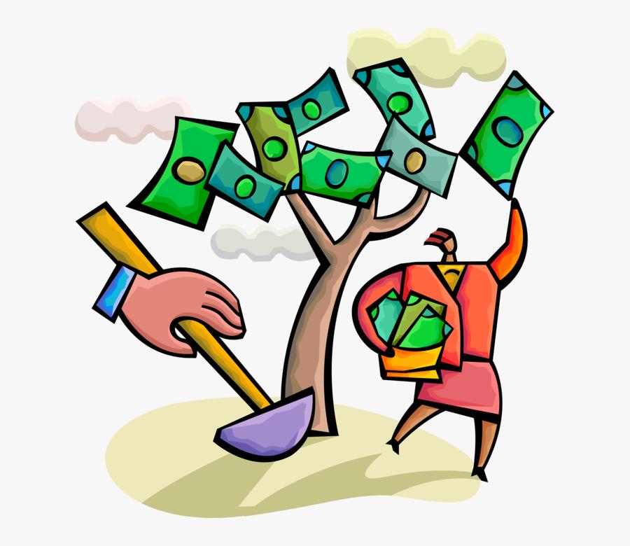 "Vector Illustration Of Businesswoman""s Tenacity Pays, Transparent Clipart"