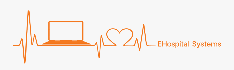 E Hospital - Hospital Management System Logo, Transparent Clipart