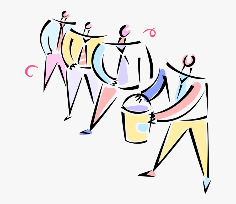Working Vector Teamwork, Transparent Clipart