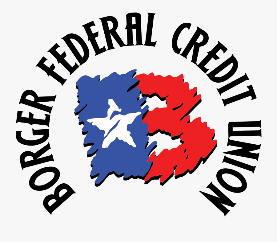 Logo - Borger Federal Credit Union, Transparent Clipart