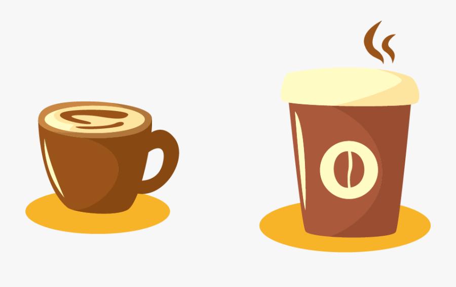 Coffee Cup Espresso Drink Mug - Coffee Cup Espresso Png Vector, Transparent Clipart