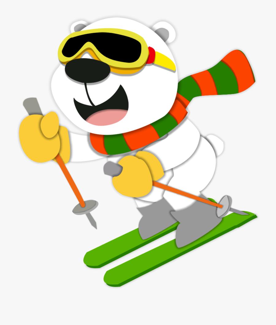 Transparent Ski Jumping Clipart Dessin Couleur Hiver Free Transparent Clipart Clipartkey