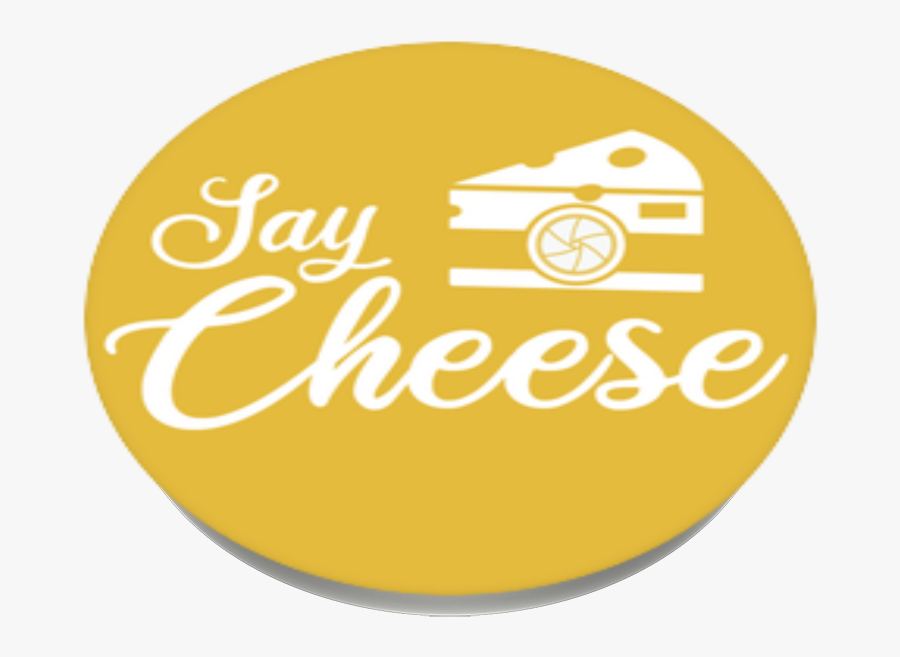 Say Cheese, Popsockets - Circle, Transparent Clipart