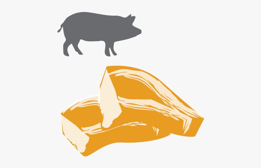 Pork Chop, Transparent Clipart