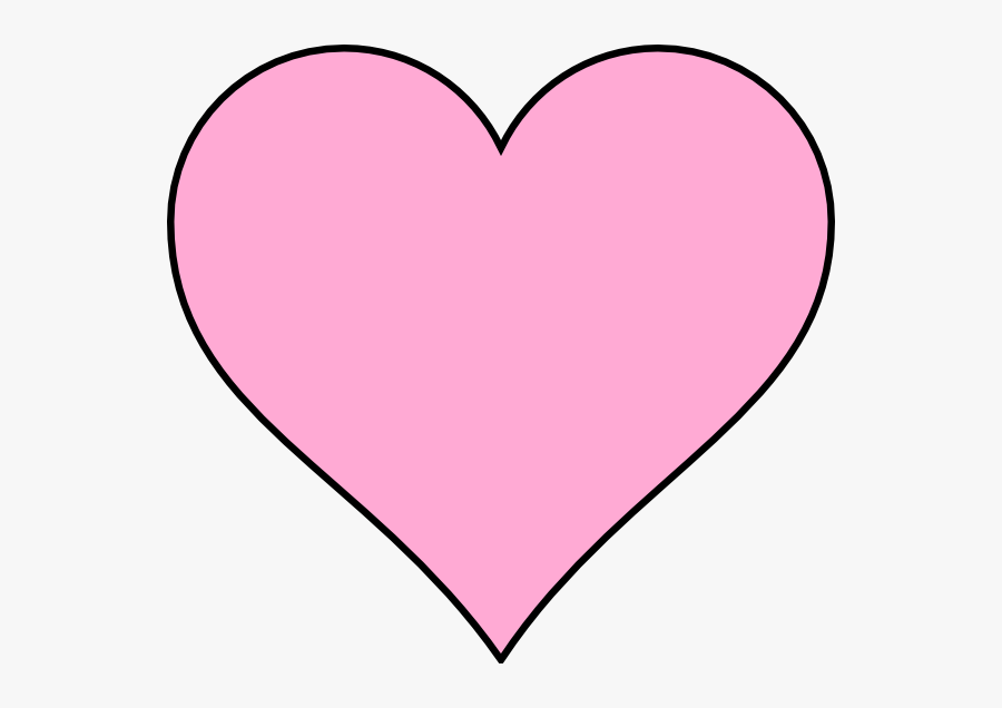 Free Pink Heart Clipart, Transparent Clipart