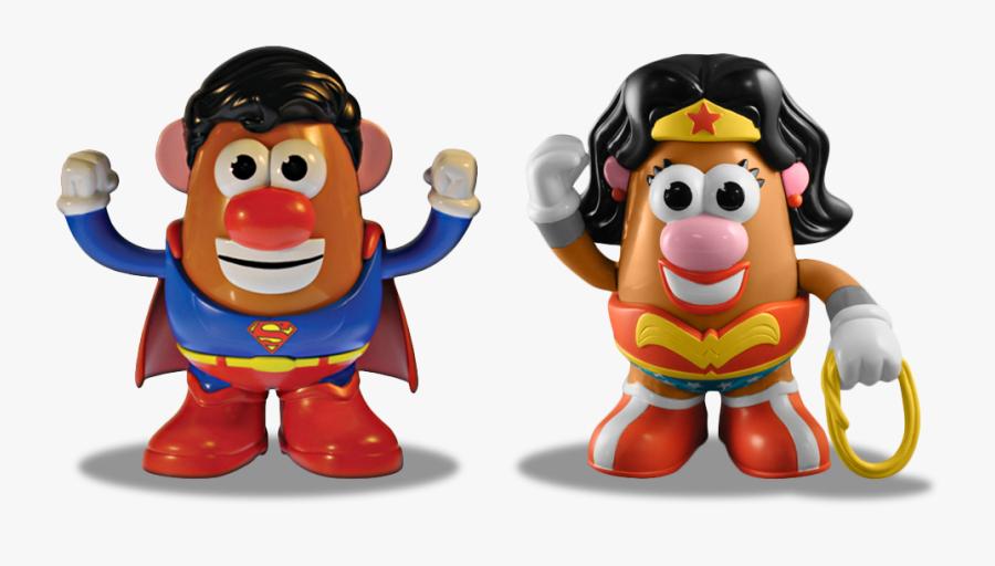 Wonder Woman Potato, Transparent Clipart