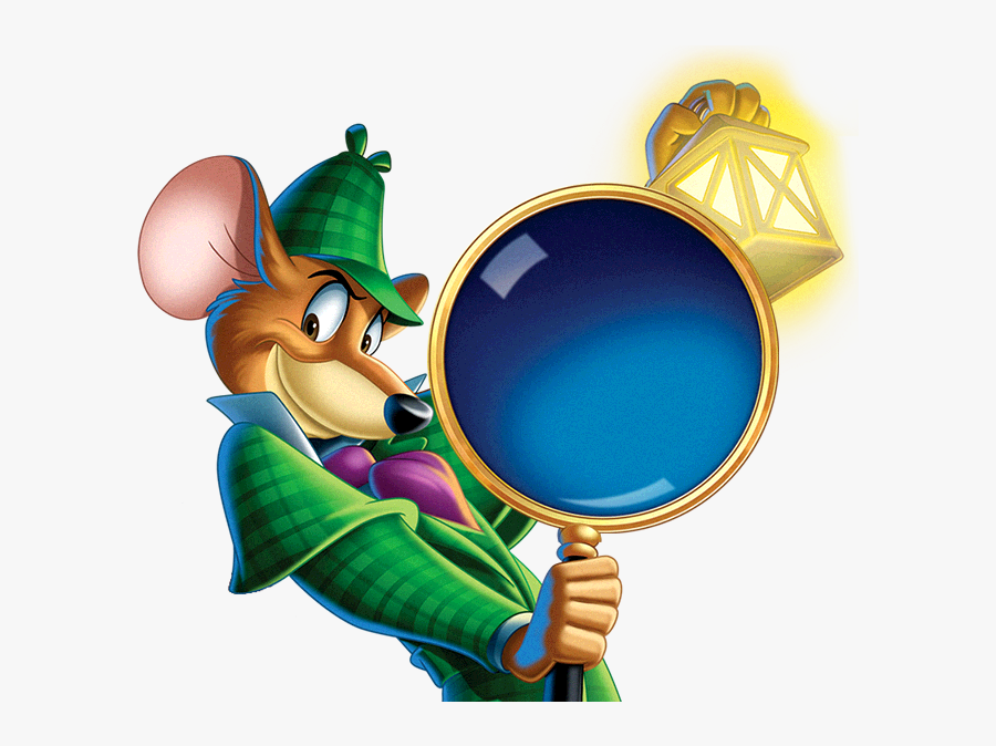 Basil The Great Mouse Detective Poster, Transparent Clipart