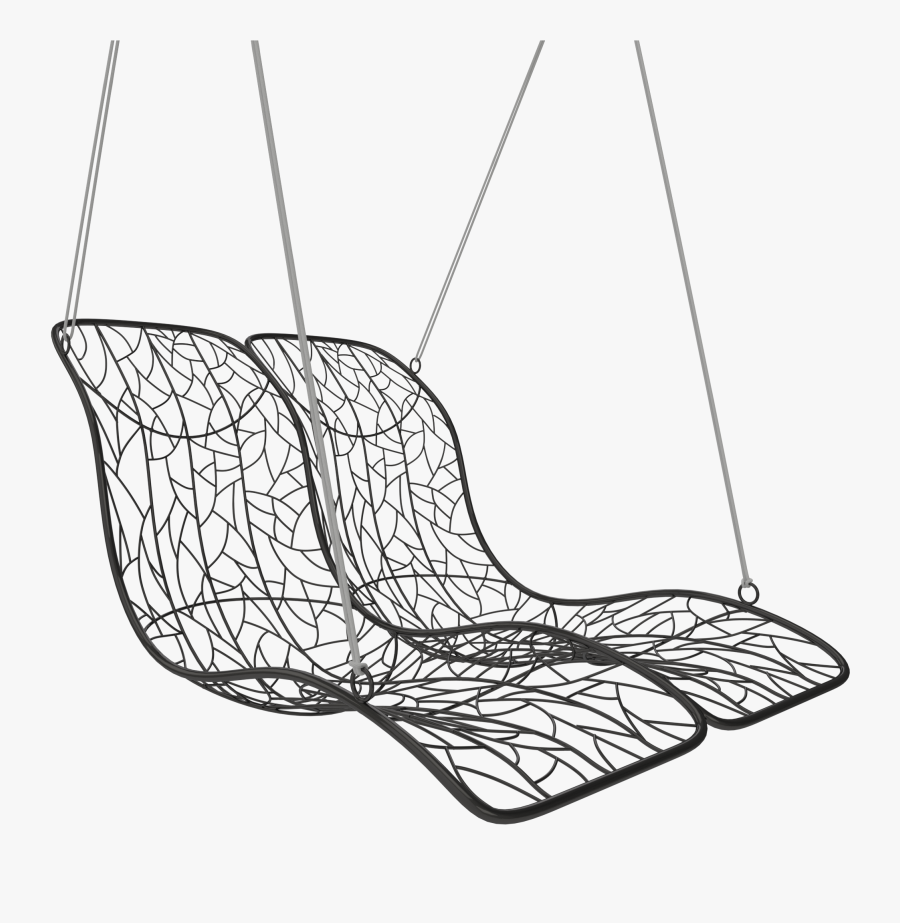 Chair With An Organic Line, Transparent Clipart