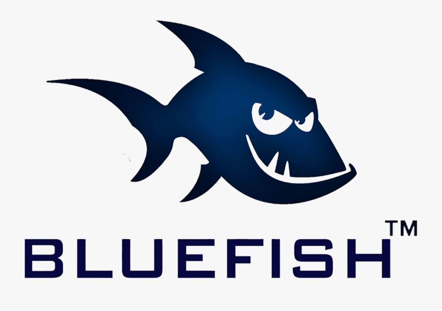 Blue Fish, Transparent Clipart