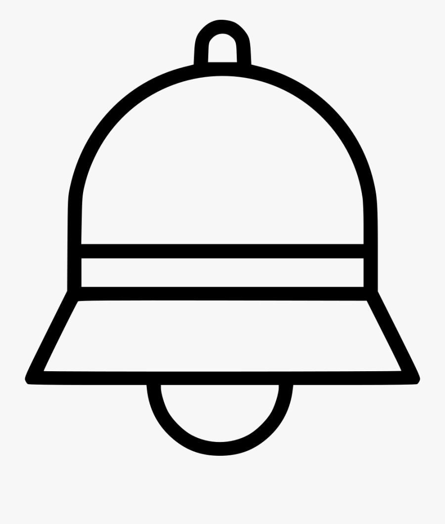 School Bell, Transparent Clipart