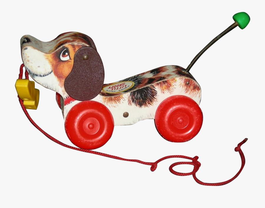 Vintage Toy Dog - Clip On Vintage Toy, Transparent Clipart