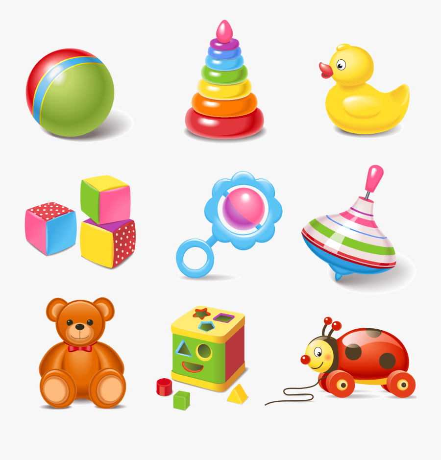 Transparent Child Icon Png - Baby Toys Vector Png, Transparent Clipart