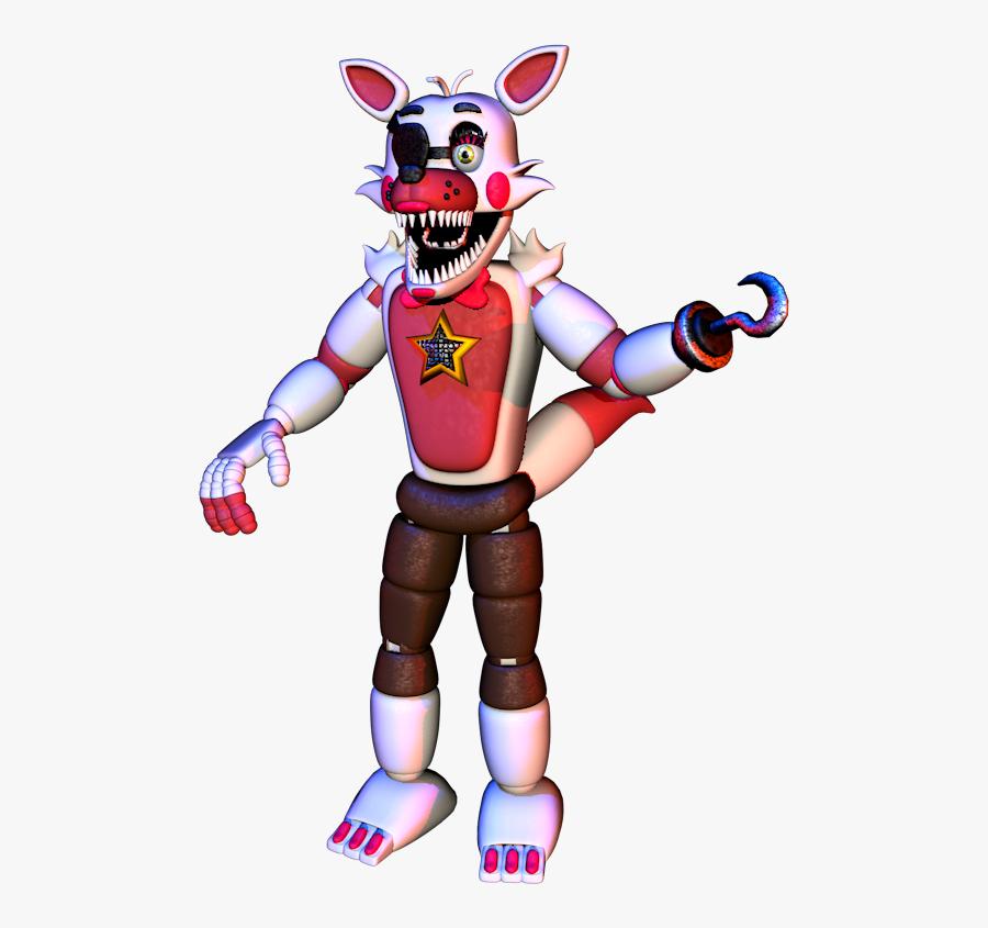 Fnaf Playtime Foxy, Transparent Clipart