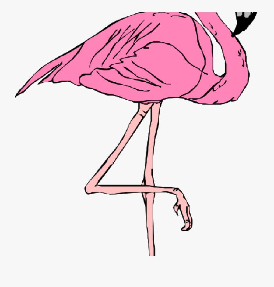 Pink Flamingo Clip Art Pink Flamingo Clip Art At Clker - Flamingo T Shirt Roblox, Transparent Clipart