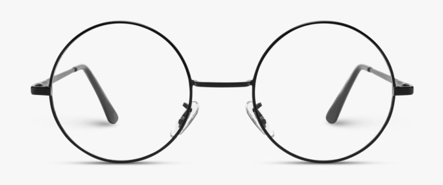 Transparent Aviators Retro - Round Frame Glasses Png, Transparent Clipart