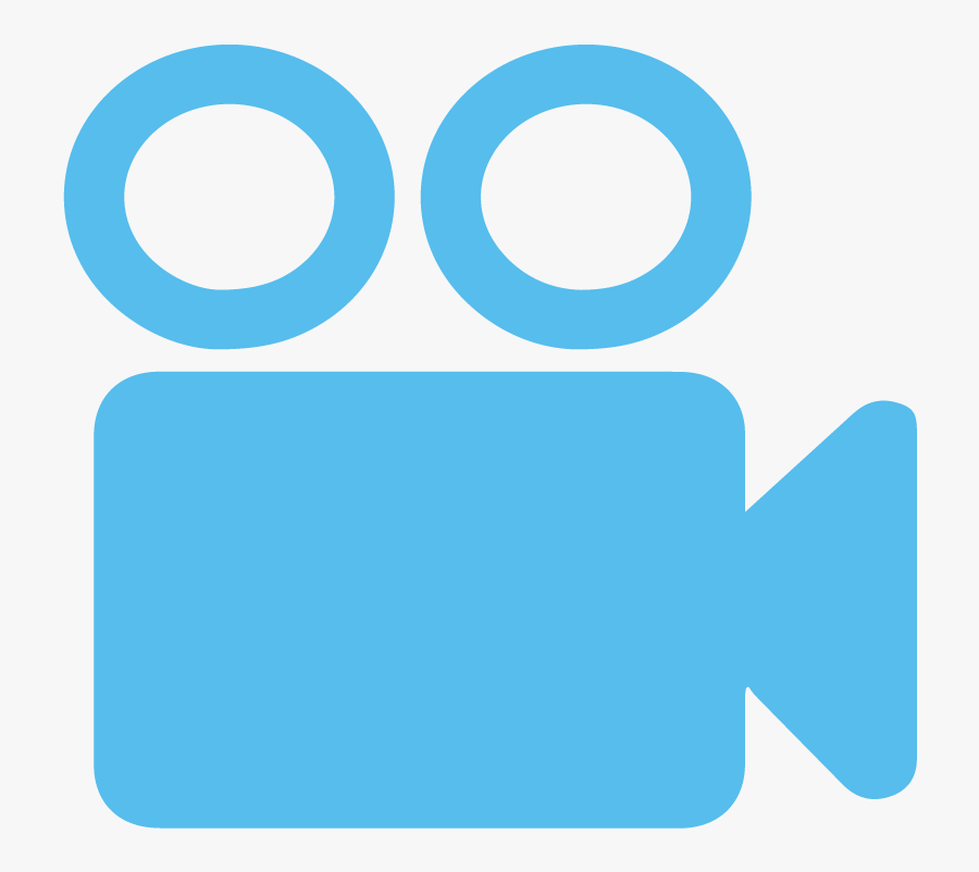 Video Record Icon Blue Clipart , Png Download - Video Recording, Transparent Clipart