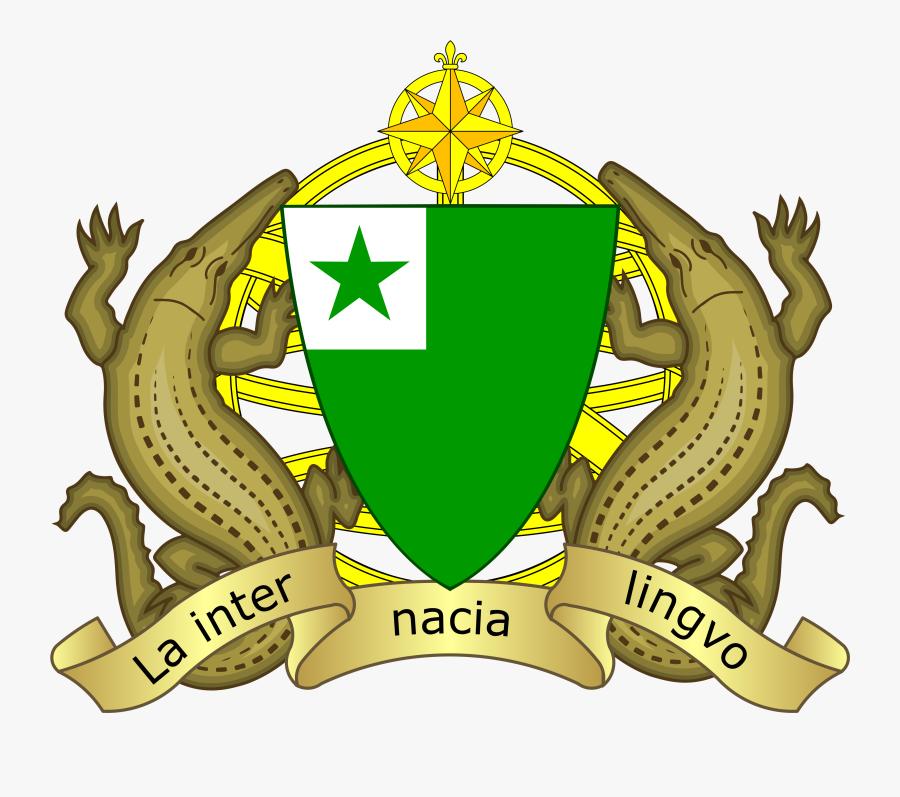 Esperanto Coat Of Arms, Transparent Clipart