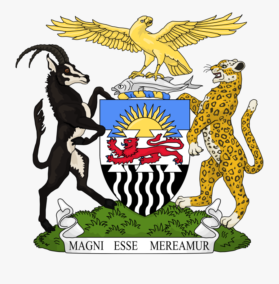 Transparent African Clipart - Federation Of Rhodesia And Nyasaland Flag, Transparent Clipart