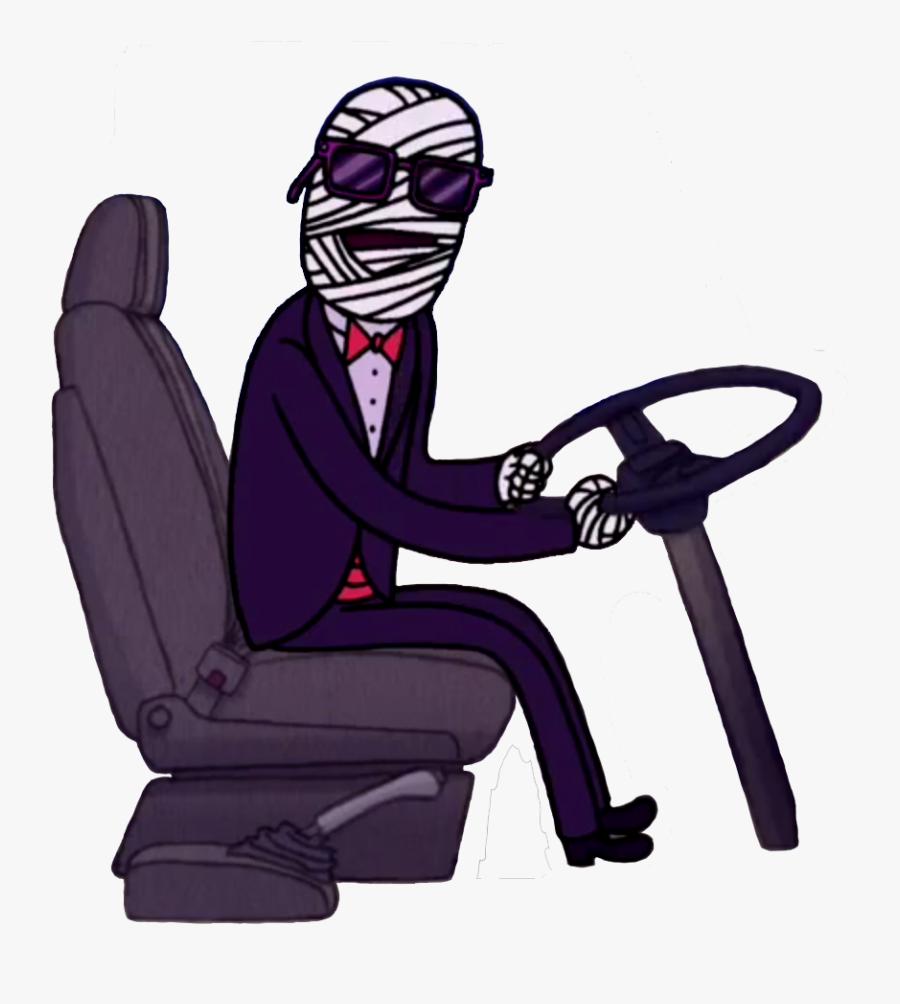 Regular Show Wiki - Party Bus Driver Regular Show, Transparent Clipart