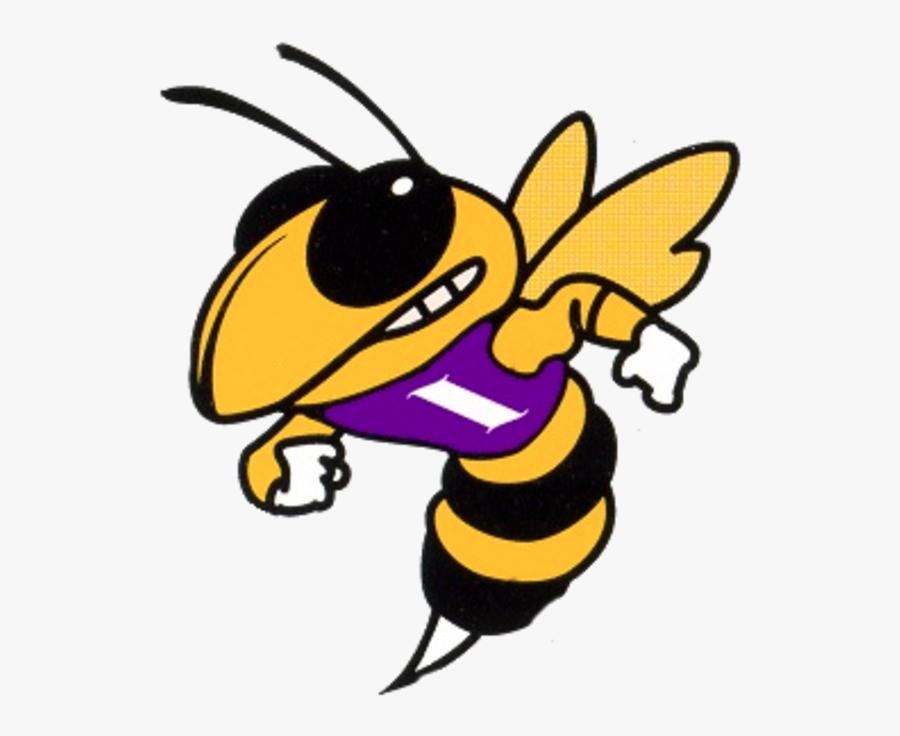 Hornet Clipart Yellow Jacket - Baker High School Hornets, Transparent Clipart