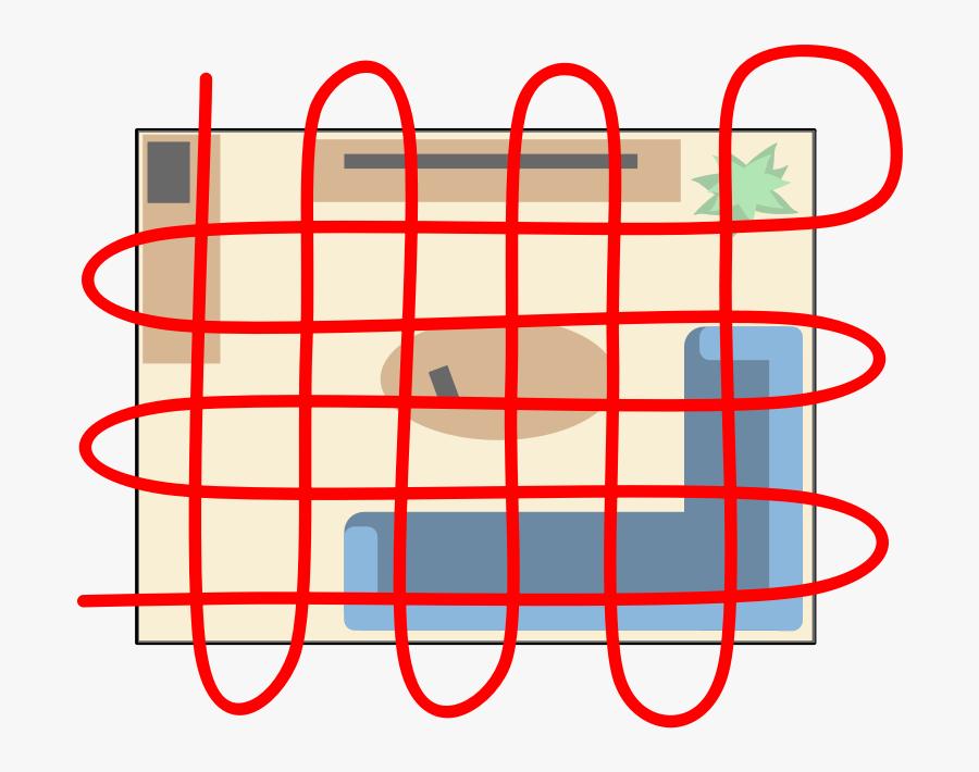 Grid Search Pattern - Crime Scene Grid Pattern, Transparent Clipart