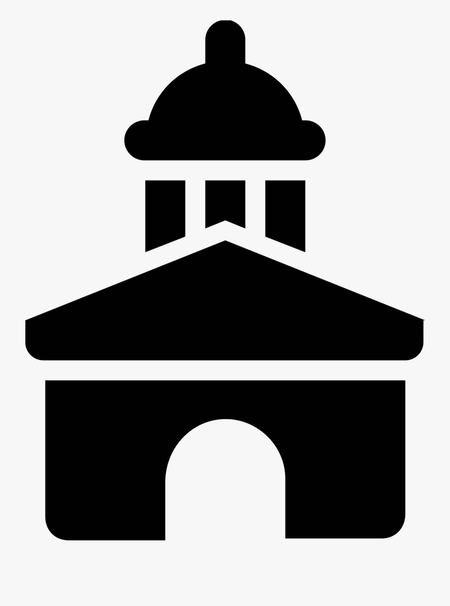 Image Royalty Free Stock Arch Vector Icon - City Hall Symbol, Transparent Clipart