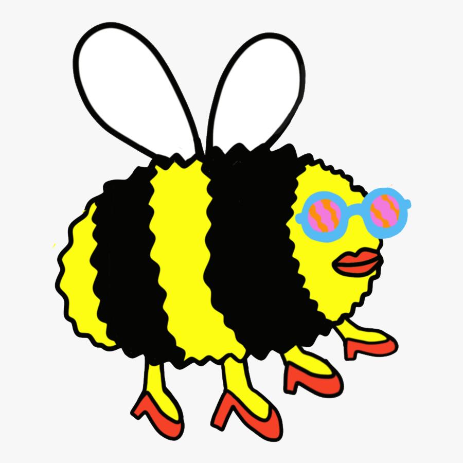 Bee, Transparent Clipart