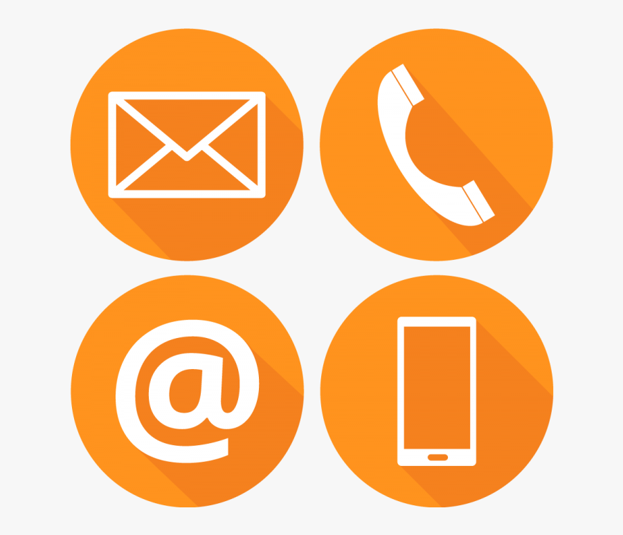 Contact Us Icons Png, Transparent Clipart