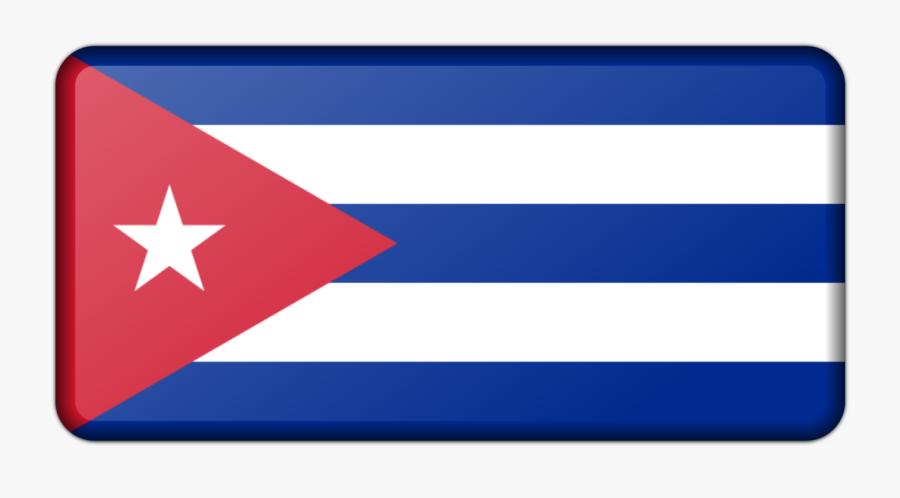 Blue,electric Blue,area - Havana Flag Clipart, Transparent Clipart