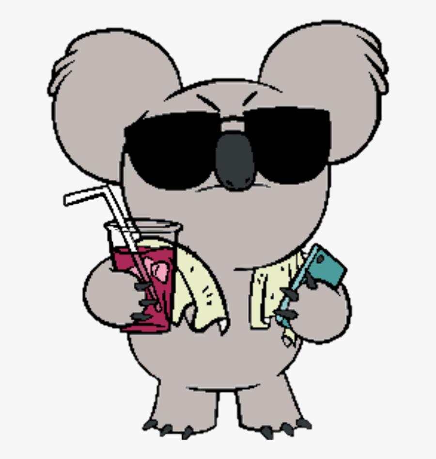 #koala #nomnom #thebarebears #sticker #bears - We Bare Bears Nom Nom Png, Transparent Clipart