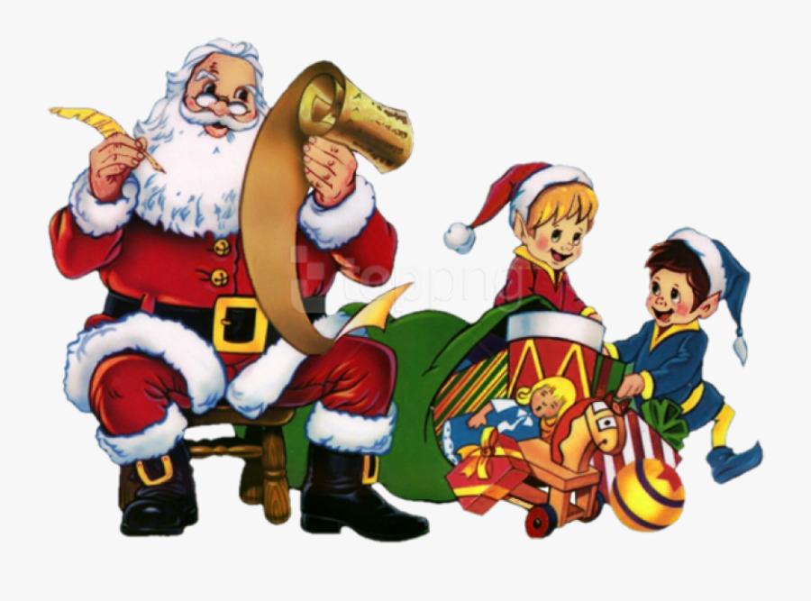 Transparent Santa Claus Png - Guten Rutsch Ins Neue Jahr 2019 Witzig Gif, Transparent Clipart
