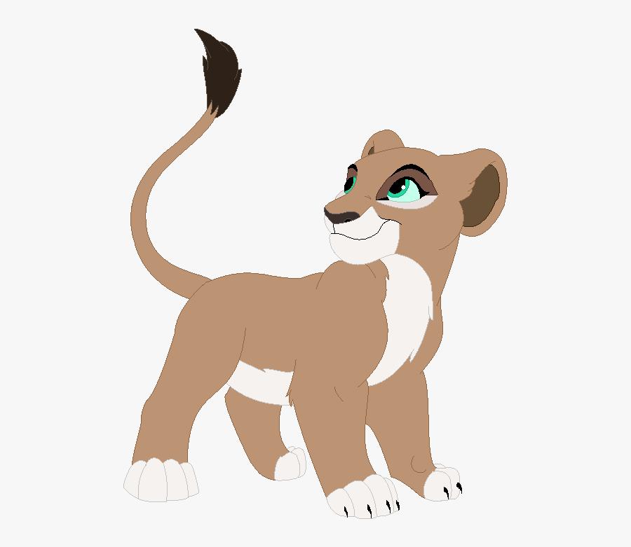 Nala Simba Zira Kiara Lion - Lion King Girl Cub, Transparent Clipart