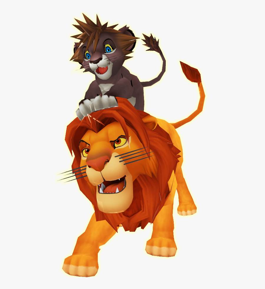 Simba Lion Animation Character - Lion King Characters Transparent Background, Transparent Clipart