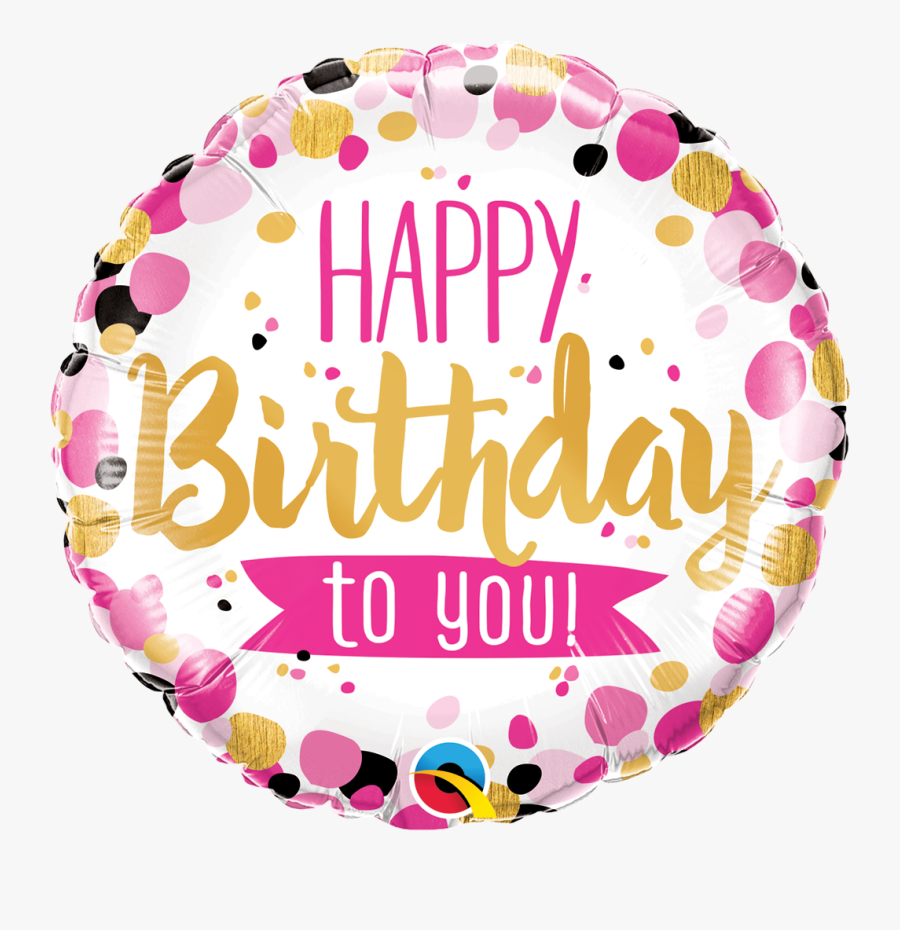 Happy Birthday To You Balloon, Transparent Clipart