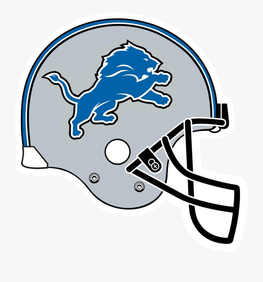 Detroit Lions Ford Field Nfl American Football Helmets - Detroit Lions Helmet Logo Png, Transparent Clipart