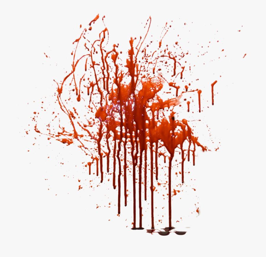 #splash #blood #splatter #stain #foreground #background - Blood Png, Transparent Clipart