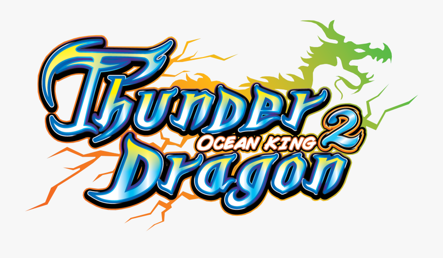 Thunder Dragon For Arcooda 8 Player Fish Machine - Ocean King Thunder Dragon Fishing Game, Transparent Clipart