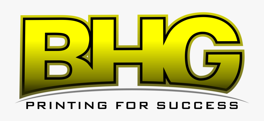 2017 Bhg Printing For Success Official Logo In Houston, - Graphic Design, Transparent Clipart