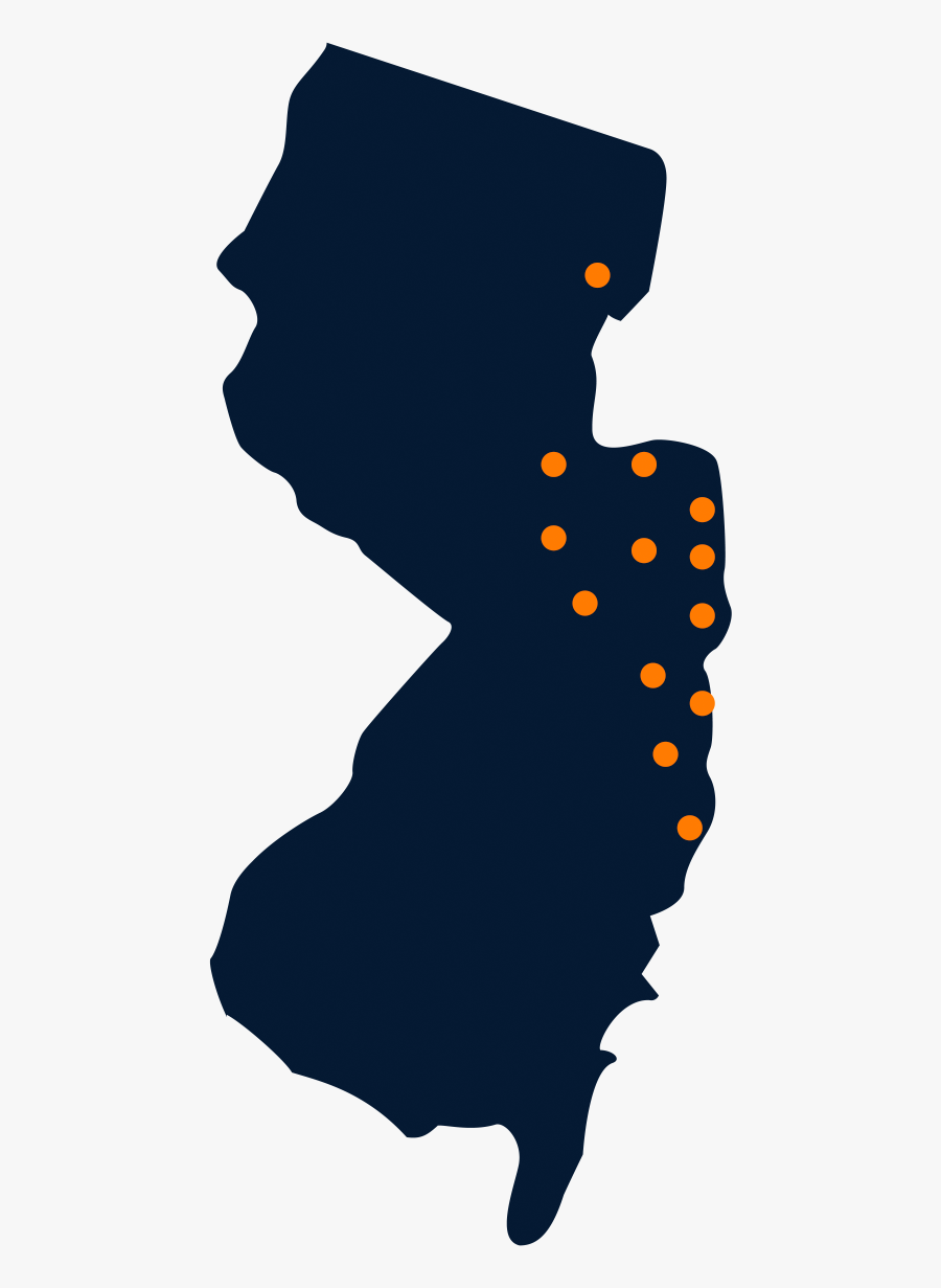 New Jersey State Png, Transparent Clipart