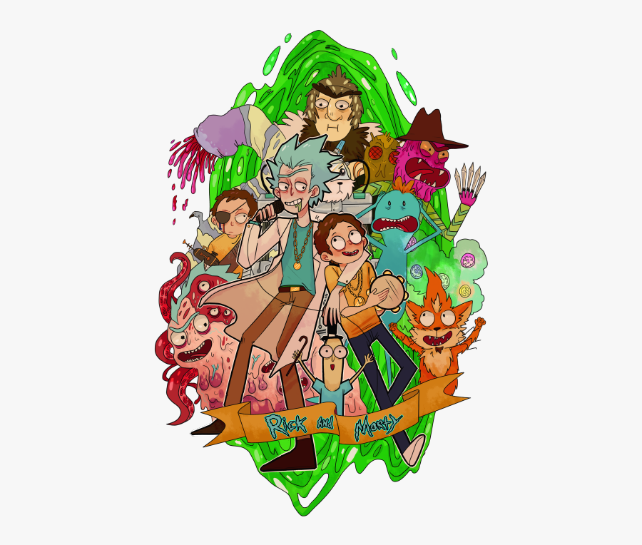 Rick And Morty Png, Transparent Clipart