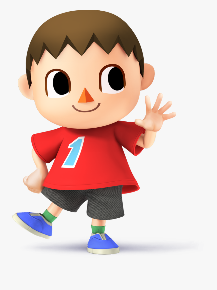 Animal Crossing Villager, Transparent Clipart