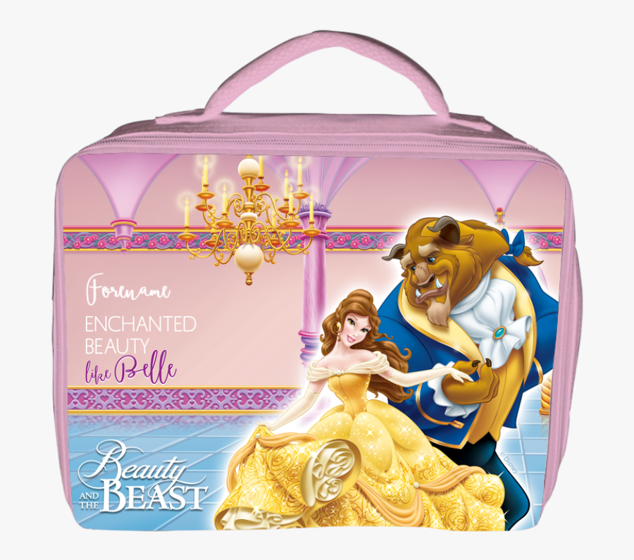 Disney Beauty And The Beast Dance Insulated Lunch Bag - Belle Beast Disney Princess, Transparent Clipart