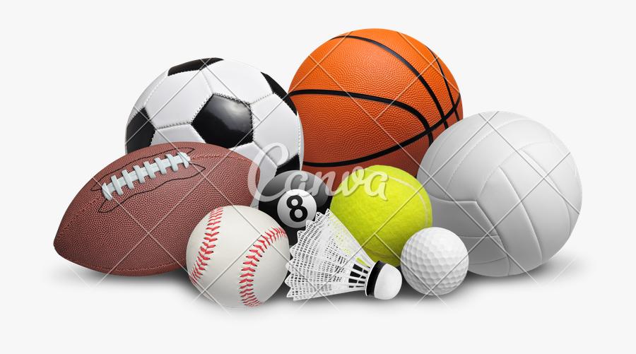 Clip Art Set Photos By Canva - Sports Items Images Png, Transparent Clipart